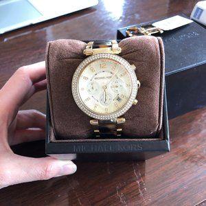 Parker Chronograph Tortoiseshell Ladies Watch